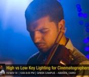 Nabil Kareem: Lighting between Low Key & High Key for DSLR cinematographers