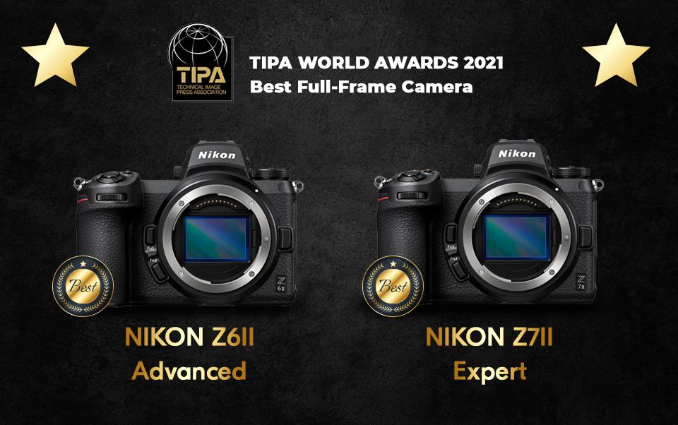 Nikon Z6 II & Z7 II Get Tipa Awards
