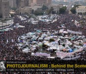 PHOTOJOURNALISM : Behind the Scenes